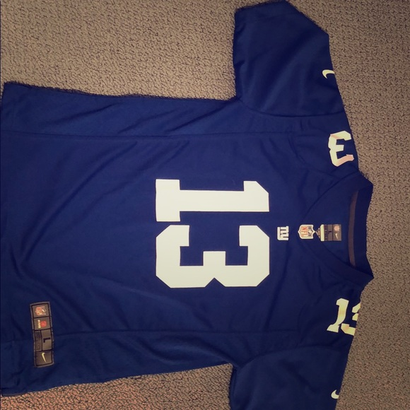 reputable site abf7c 811d3 Nike Boys Large Jersey NY Giants Odell Beckham #13